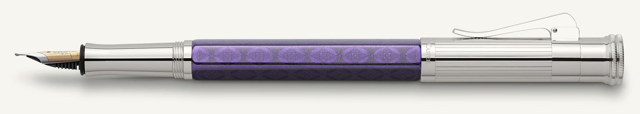 Graf von Faber-Castell Limited Edition Heritage Ottilie Füllfederhalter 02