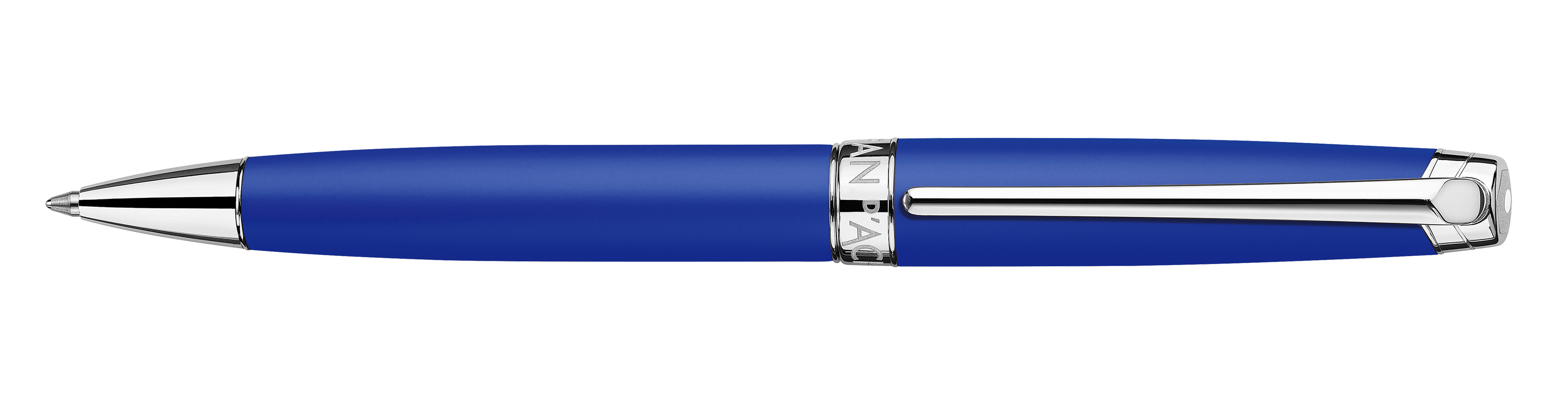 Caran d'Ache Léman Klein Blue Kugelschreiber 02