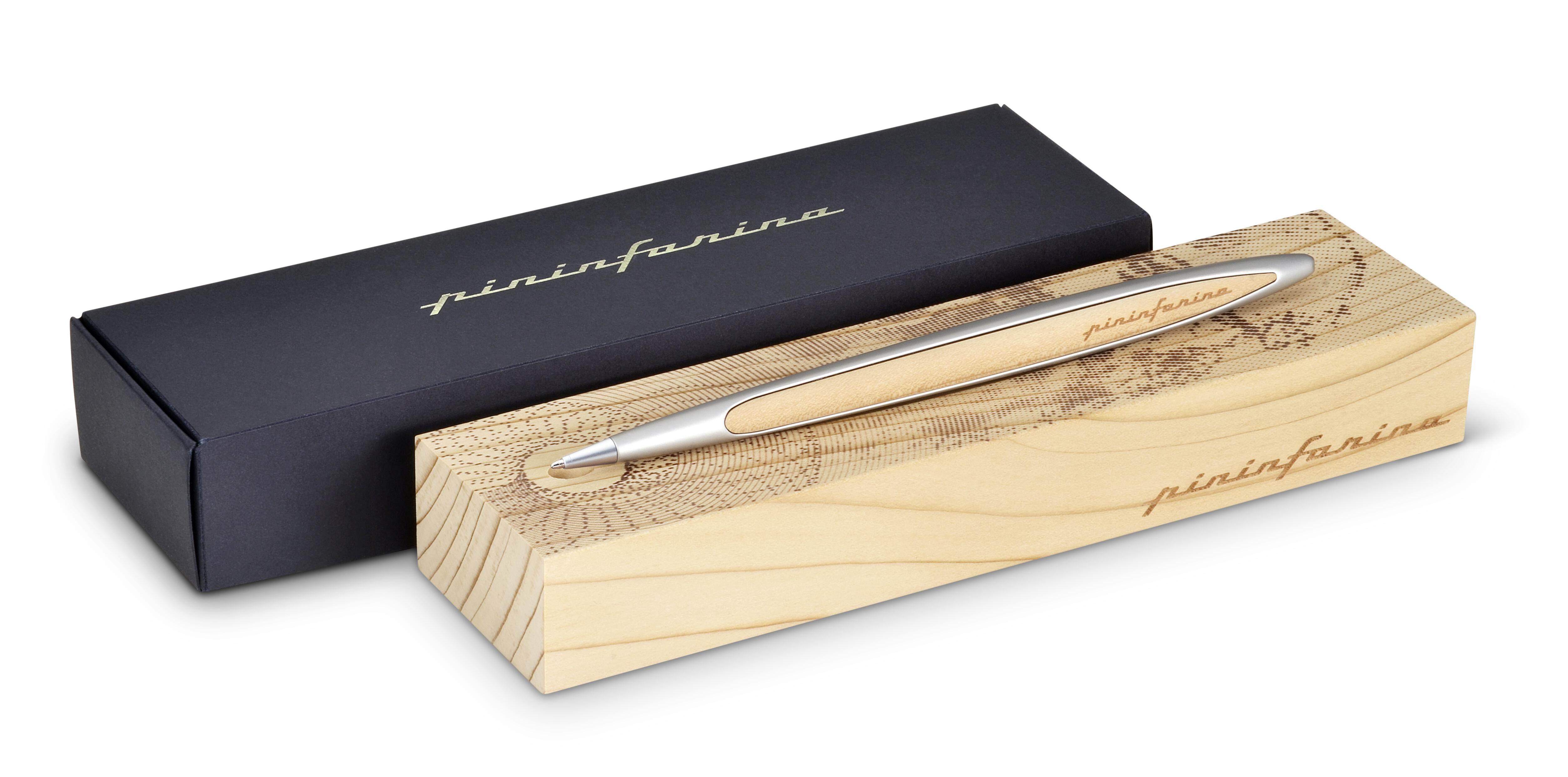 Pinifarina Cambiano Leonardo Drawing, 500th Limited, Cedarwood, Ballpoint 01