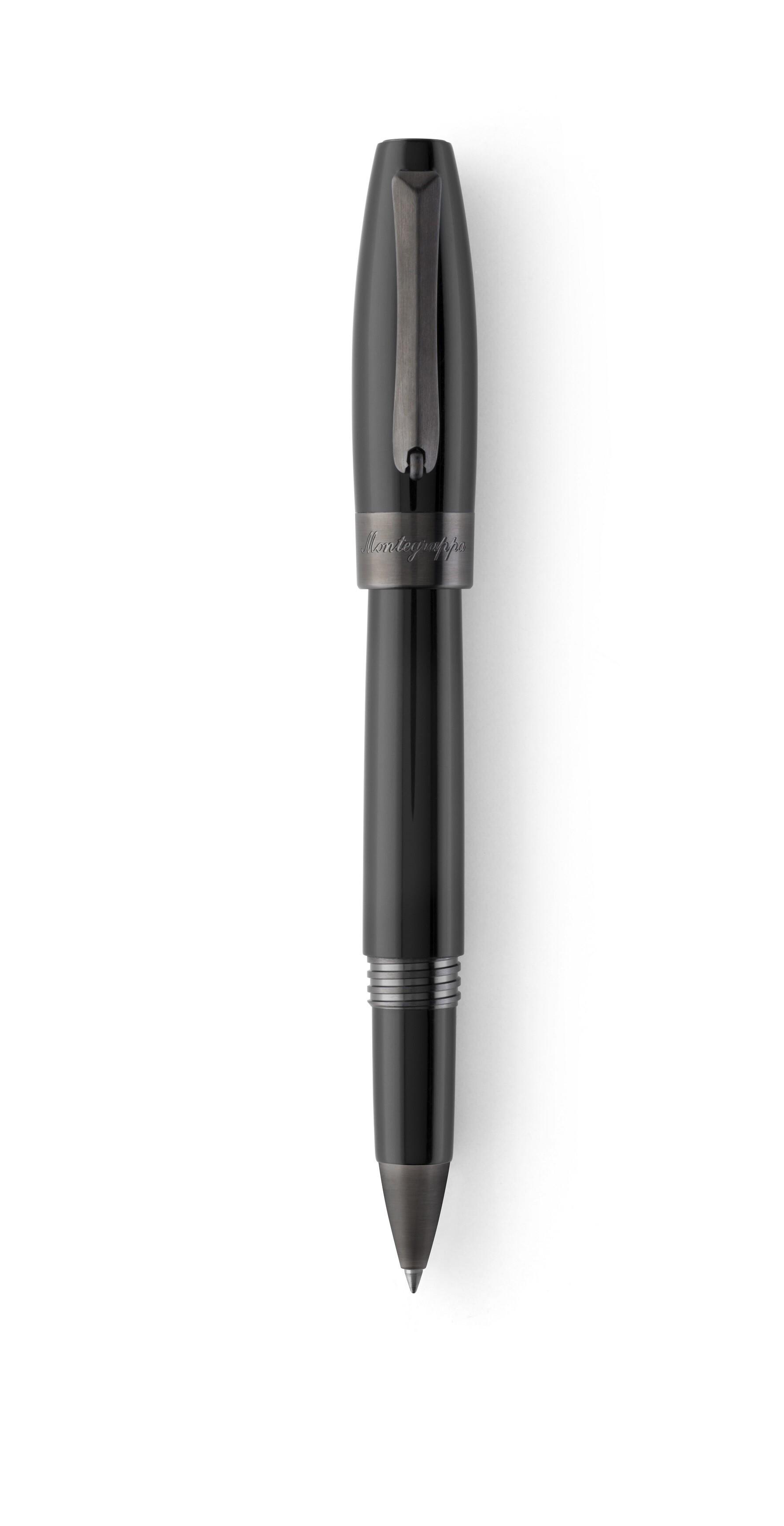 Montegrappa Fortuna Black Ruthenium Tintenroller 01