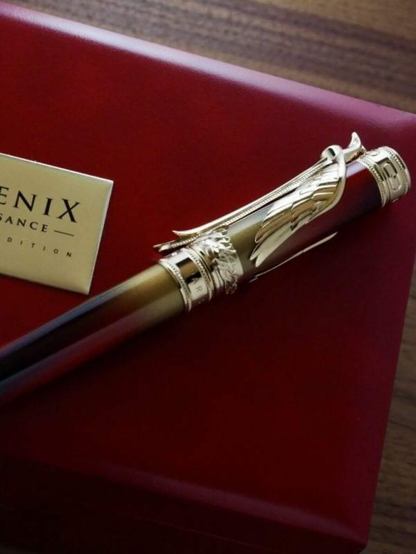 S.T. Dupont Phoenix Renaissance Limited Edition Fountain Pen 01