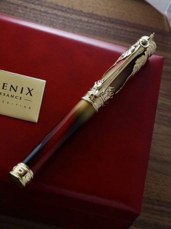 S.T. Dupont Phoenix Renaissance Limited Edition Fountain Pen 02