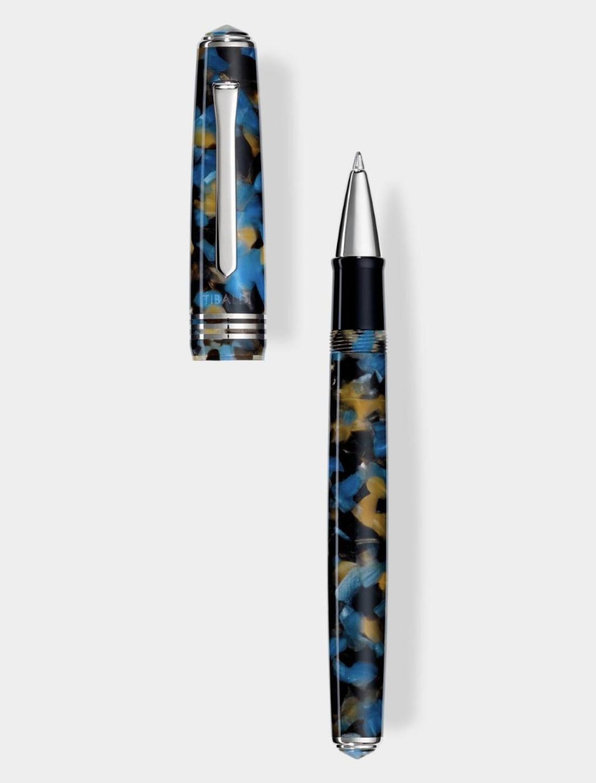Collezione: N.60 - roller in resina blu samarkand 02