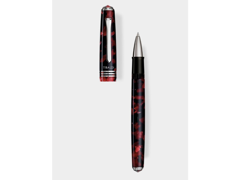Collezione: N.60 - roller in resina rosso rubino 02