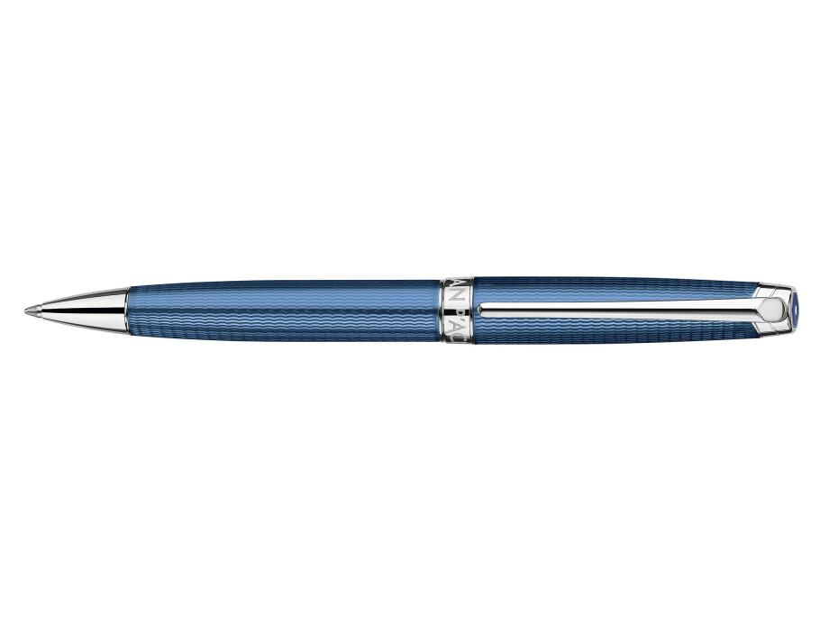 Caran d'Ache Léman Grand Bleu Kugelschreiber 01