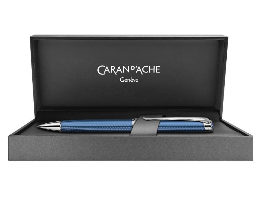 Caran d'Ache Léman Grand Bleu Kugelschreiber 02