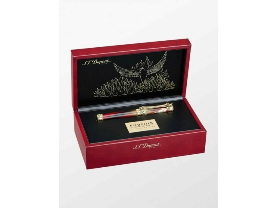 S.T. Dupont Phoenix Renaissance Limited Edition Fountain Pen 04